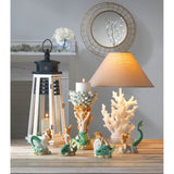 White Coral Table Lamp - Distinctive Merchandise
