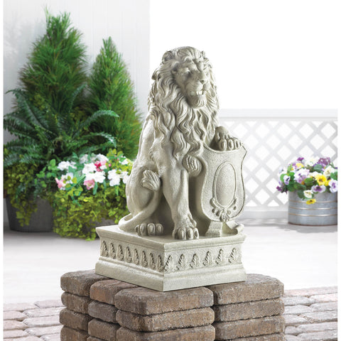Ivory Lion Statue - Distinctive Merchandise