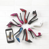 Pink Shoe Phone Holder - Distinctive Merchandise