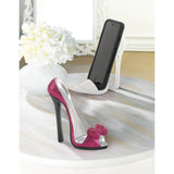 Pink Bow Shoe Phone Holder - Distinctive Merchandise