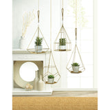 Hanging Plant Holder With Round Base - Distinctive Merchandise