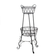 2-Tier Plant Stand - Distinctive Merchandise