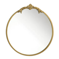 Ornate Gold Wall Mirror - Distinctive Merchandise