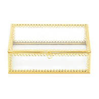 Gold Motif Jewelry Box - Distinctive Merchandise