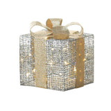 Large Light Up Gift Box Décor - Distinctive Merchandise
