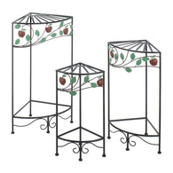Country Apple Plant Stand Set - Distinctive Merchandise