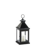 Small Glossy Black Lantern - Distinctive Merchandise