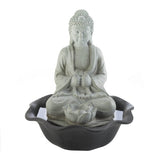 Buddha On Lotus Tabletop Fountain - Distinctive Merchandise