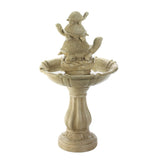 Turtle Trio Garden Fountain - Distinctive Merchandise