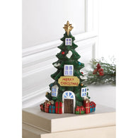 Light Up Christmas Tree House - Distinctive Merchandise