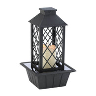 Black Lantern Tabletop Fountain - Distinctive Merchandise