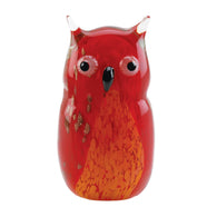 Red Owl Art Glass - Distinctive Merchandise