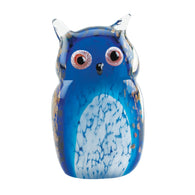 Blue Owl Art Glass - Distinctive Merchandise