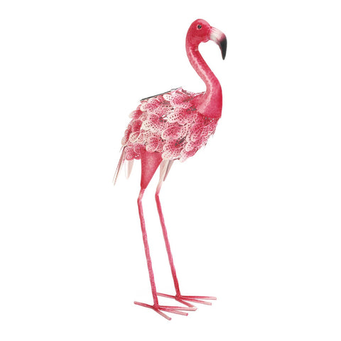 Pretty Flamingo With Solar Light - Distinctive Merchandise