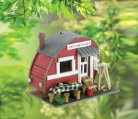Red Trailer Birdhouse - Distinctive Merchandise
