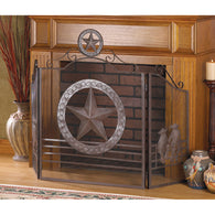 Lone Star Fireplace Screen - Distinctive Merchandise