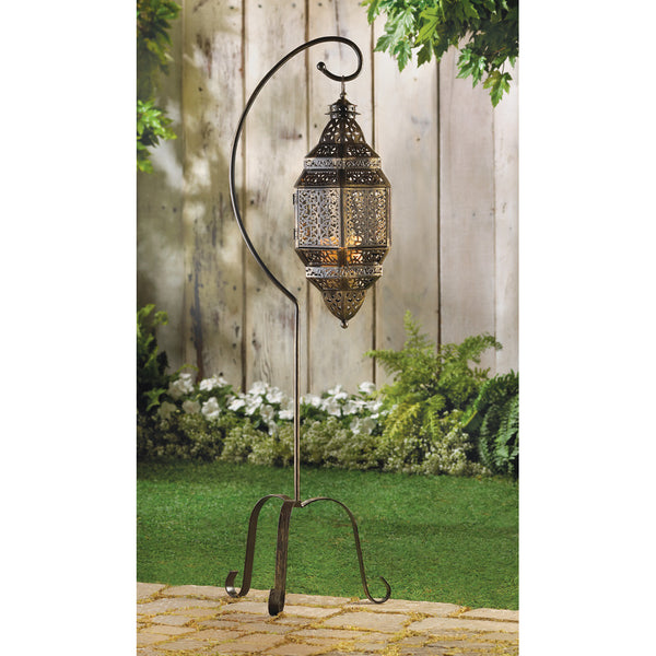 MOROCCAN CANDLE LANTERN STAND - Distinctive Merchandise