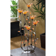 Amber Calla Lily Candleholder - Distinctive Merchandise