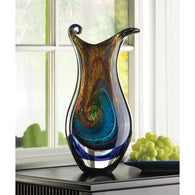 GALAXY ART GLASS VASE - Distinctive Merchandise