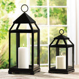 Contemporary Candle Lantern - Distinctive Merchandise