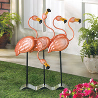 FLOCK O' FLAMINGOS DÉCOR - Distinctive Merchandise