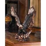 EAGLE IN FLIGHT STATUE - Distinctive Merchandise