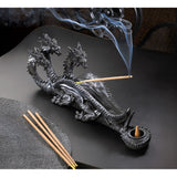 Triple-Head Dragon Incense Burner - Distinctive Merchandise