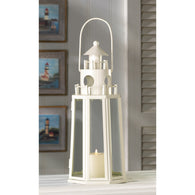 LIGHTHOUSE CANDLE LANTERN - Distinctive Merchandise