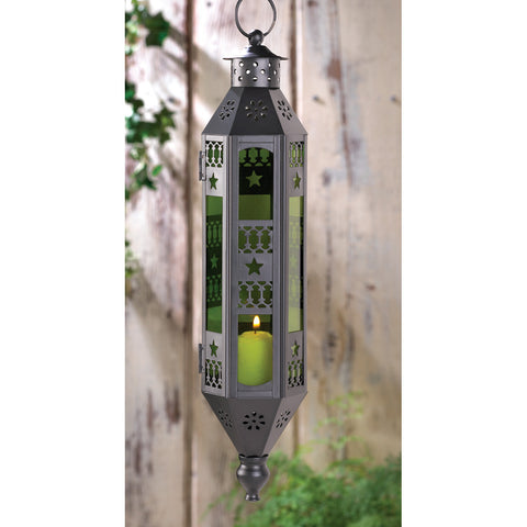 Emerald Serenity Hanging Lamp - Distinctive Merchandise