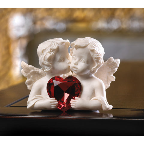 Two In Love Cherub Figurine - Distinctive Merchandise