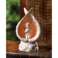 LIGHT-UP PRAYING ANGEL FIGURINE - Distinctive Merchandise
