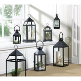 BLACK REVERE MEDIUM CANDLE LANTERN - Distinctive Merchandise