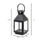 BLACK REVERE MEDIUM CANDLE LANTERN