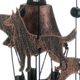 "26"" Bronze Dogs Wind Chimes - Distinctive Merchandise"