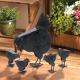 Hen With Chicks Sculpture - Distinctive Merchandise
