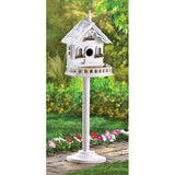 Freestanding Victorian Birdhouse - Distinctive Merchandise