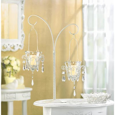 Mini-Chandelier Votive Stand - Distinctive Merchandise
