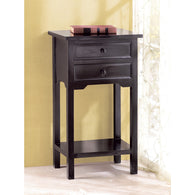 BLACK SIDE TABLE - Distinctive Merchandise