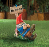 On Strike Garden Gnome - Distinctive Merchandise