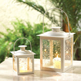Small White Lantern - Distinctive Merchandise