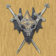 Armored Dragon Wall Crest - Distinctive Merchandise