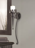 Gothic Candle Sconce - Distinctive Merchandise