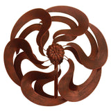 Bronze Flower Windmill Stake - Distinctive Merchandise