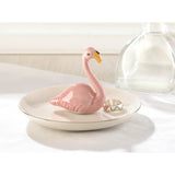 Flamingo Ring Dish - Distinctive Merchandise