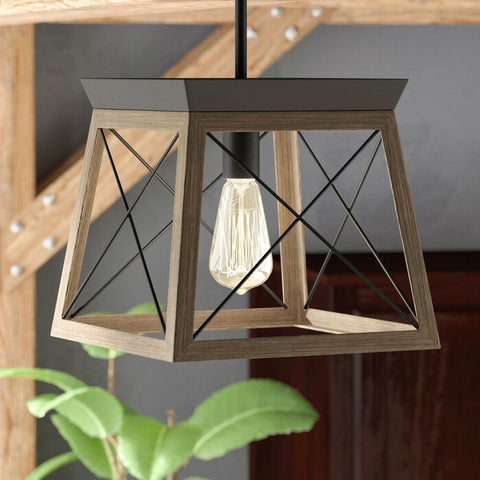 Antique Bronze Dimmable Light Lantern Geometric Chandelier - Distinctive Merchandise