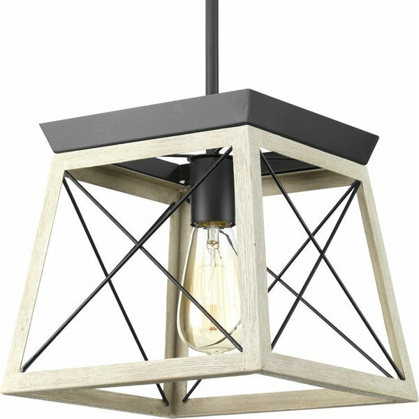 Graphite Dimmable Farm Home Light Lantern Geometric Chandelier