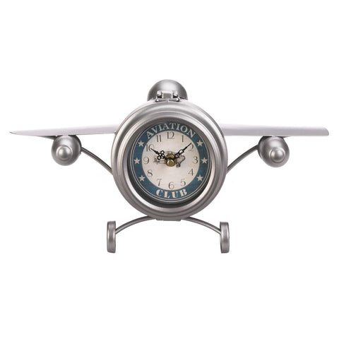 Aviation Club Jet Desk Clock - Distinctive Merchandise