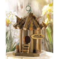 Bed And Breakfast Birdhouse - Distinctive Merchandise