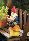BOOKWORM GNOME SOLAR STATUE - Distinctive Merchandise