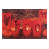 Boo Halloween Led Wall Art - Distinctive Merchandise